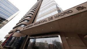 Imagen de archivo de lafachada de la Audiencia Provincial de Madrid.