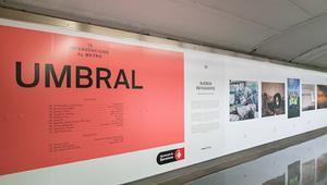 Fotografia del Ayuntamiento de Barcelona sobre la exposición del proyecto Umbral
