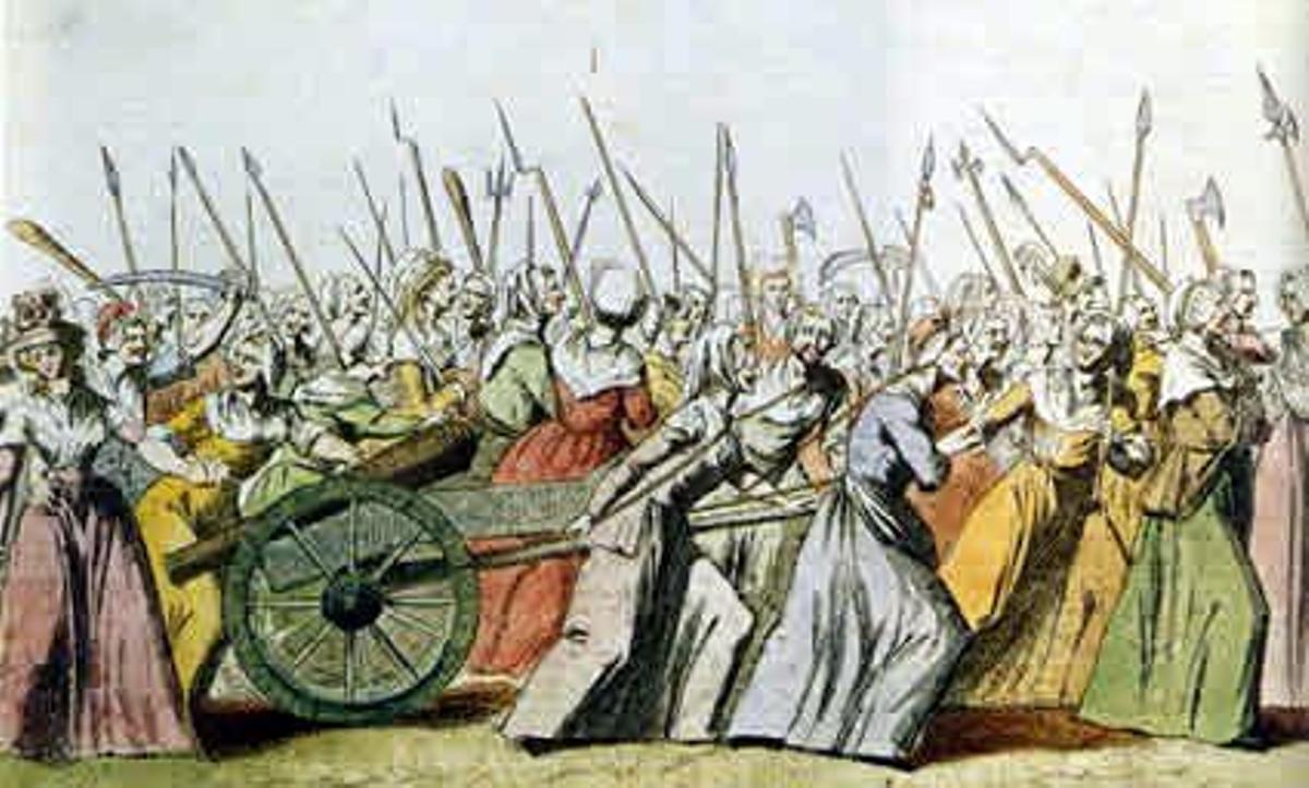 «¡Mujer, despierta!»: la Revolución Francesa. Aunque desdibujadas por la historia, estuvieron en la toma de la Bastilla y, armadas con cuanto pudieron, marcharon hasta Versalles en 1789 para hacer volver al rey cuando en París ya no quedaba pan. Las revolucionarias reclamaron educación, trabajo y derechos políticos, y pronto se dieron cuenta de que, con ellas, sus compañeros se comportaban como «aristócratas». «¡Mujer, despierta!», dijo Olympe de Gouges. Acabó en la guillotina.