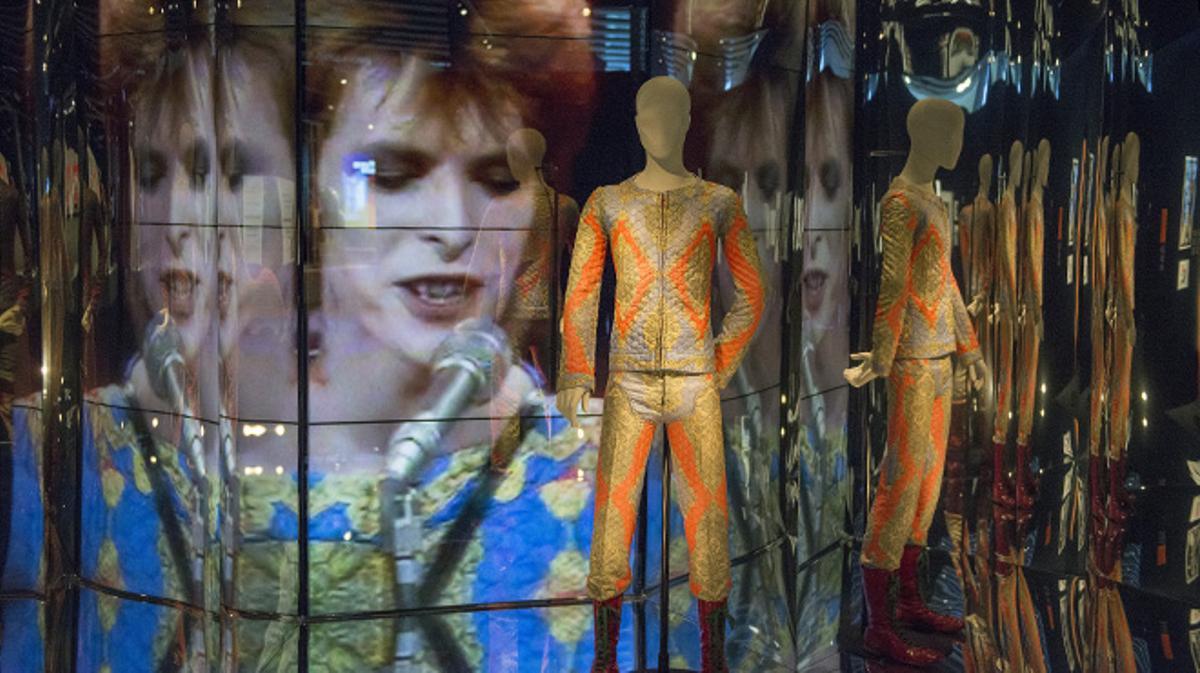 David Bowie protagonista de la gran exposición en el Museo del Disseny de Barcelona.