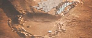 Viatge a la primera colònia de Mart