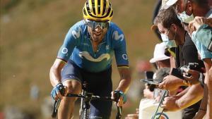 Alejandro Valverde, en este Tour.