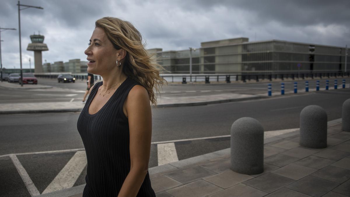 Entrevista a la ministra de transportes del Gobierno español, Raquel Sanchez