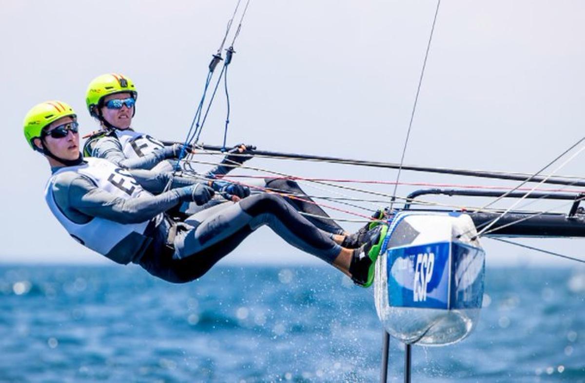 Un regatista d'Esplugues de Llobregat, diploma olímpic als Jocs Olímpics de Tòquio