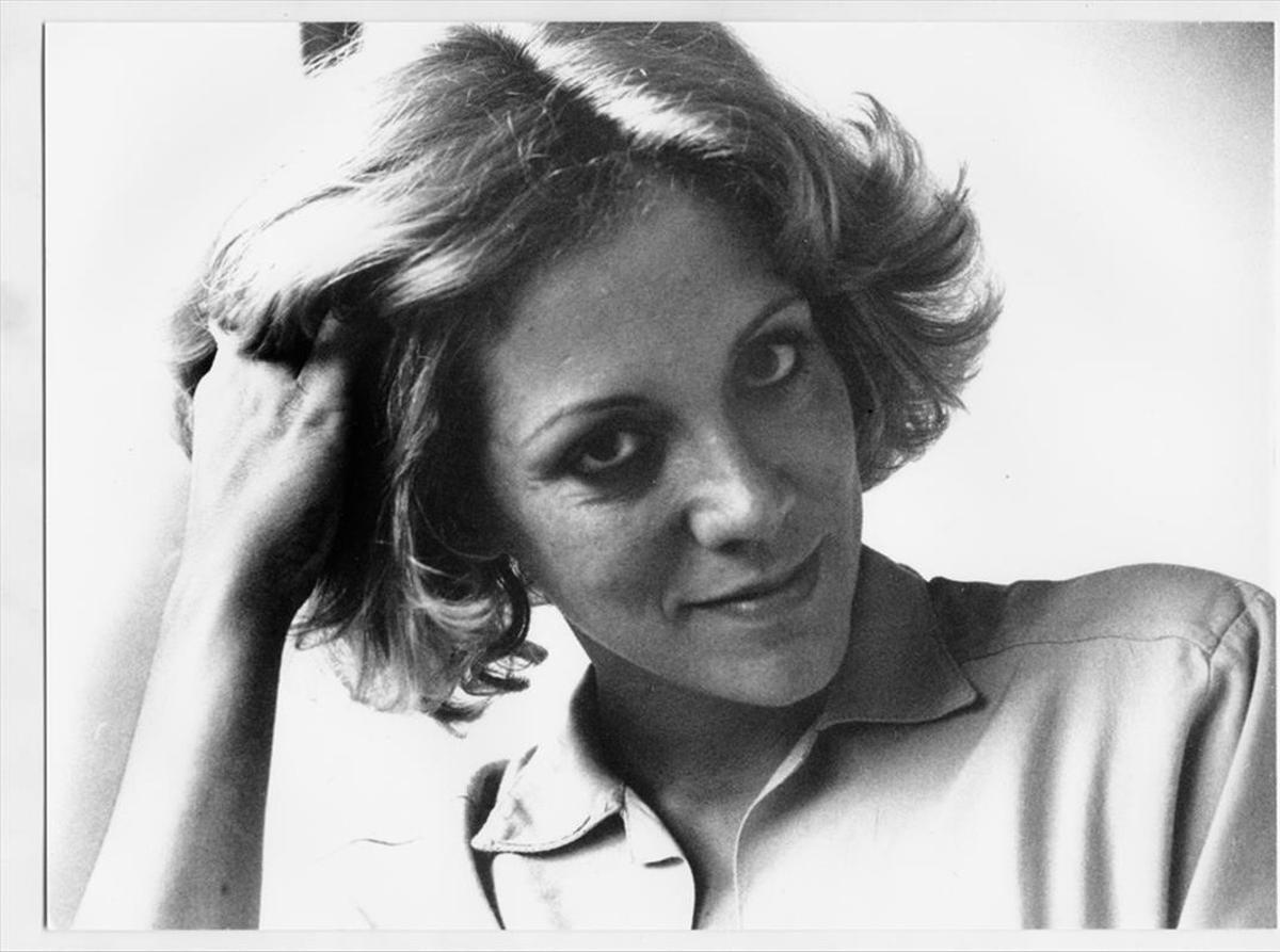 La escritora y periodista Montserrat Roig.