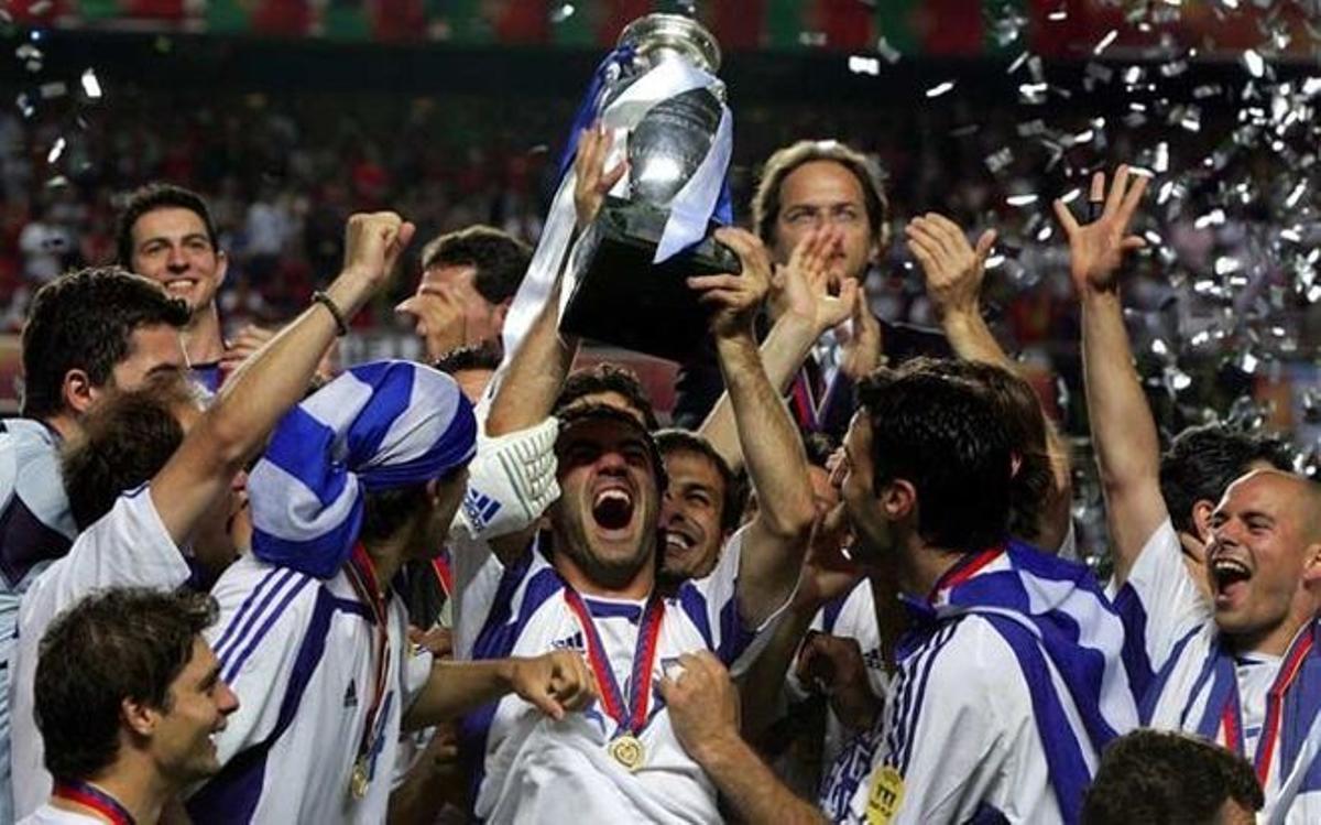 Grecia logró en 2004 una de las mayores gestas de la historia del fútbol europeo.