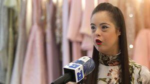 Marián Ávila, modelo valenciana con síndrome de Down, premiada en Nueva York.