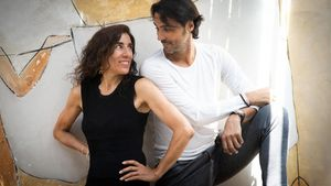 Blanca Li e Igor Yebra, en la presentación de 'El Quijote del Plata' en Barcelona