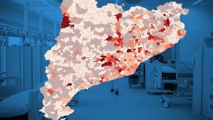 Deu municipis concentren el 47% de les morts per Covid-19 a Catalunya