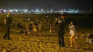 Barcelona ha multat 1.800 persones per beure al carrer