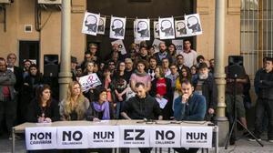 Presentación de la semana de la libertad de expresión celebrada en la cárcel de la Modelo, el pasado 4 de abril.