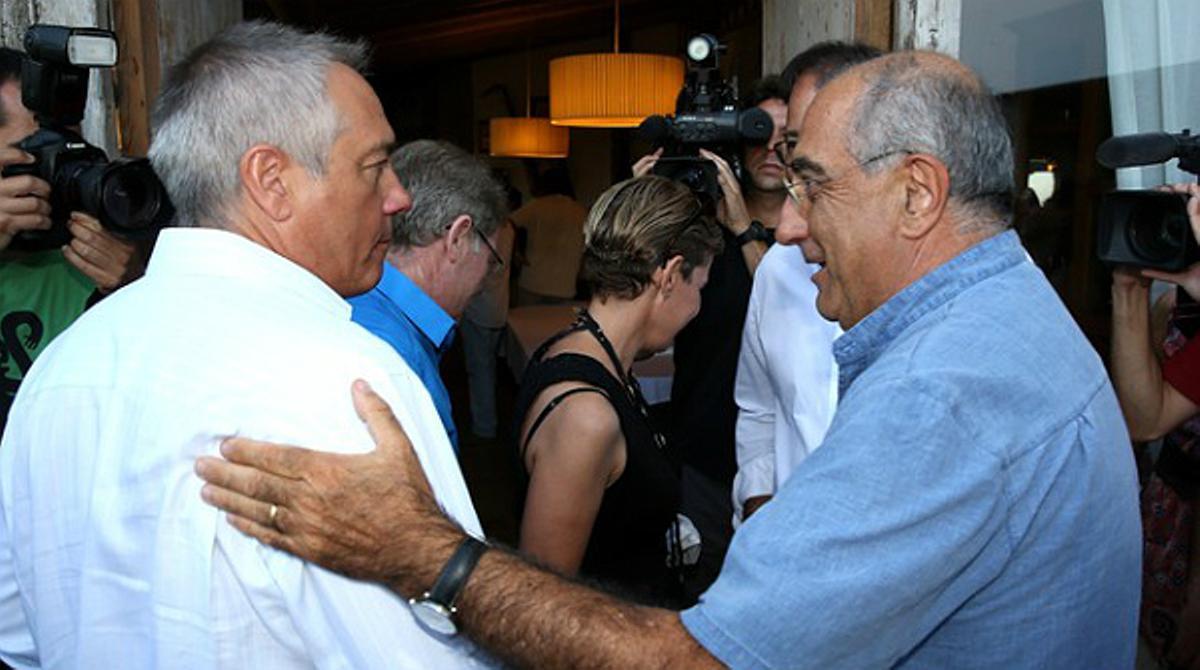 Pere Navarro ha alertado a los suyos este miércoles sobre los intentos de dividir al socialismo catalán.
