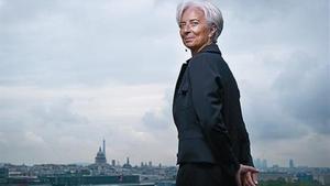 Investigada 8 Christine Lagarde, en París, el 14 de junio del 2011.