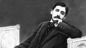 El escritor francés Marcel Proust.