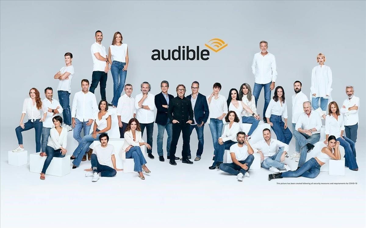 Directivos, actores, autores y creadores de Audible.es.
