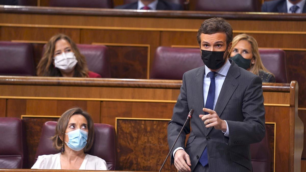 Casado a Sánchez: Los pactos con Bildu le van a perseguir toda la vida.