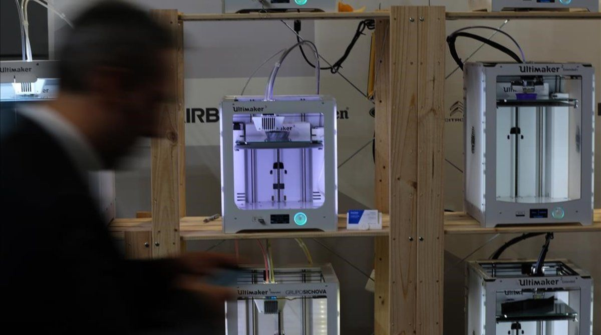 Impresoras 3D en el salón In(3D)ustry.