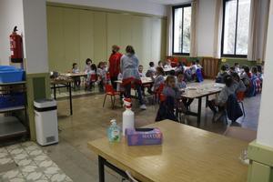 El purificador d'aire a les aules, un aliat per evitar contagis de Covid-19