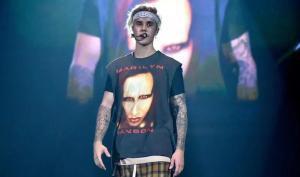 Justin Bieber, en un concierto.