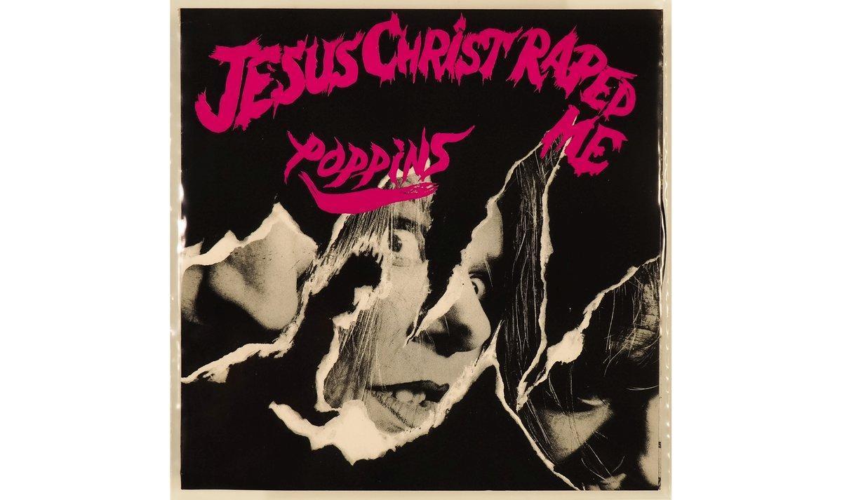 Portada de 'Jesus Christ raped me' de Poppins.