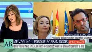 "Ana Rosa abronca a dos alcaldes que se vacunaron sin pertenecer a grupo de riesgo: ""Tienen que dar ejemplo"""