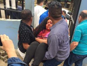 Paramilitares atacaron a Verónica Chávez , dueña del canal 100 % Noticias.