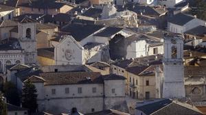 Italia vive su terremoto más fuerte desde 1980.