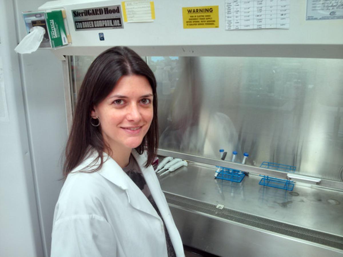 Nuria Martí, científica especializada en clonación humana.