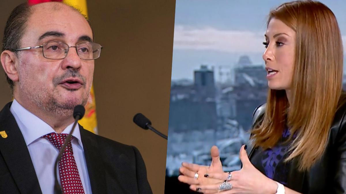 Javier Lambán y Isabel Zubiaurre