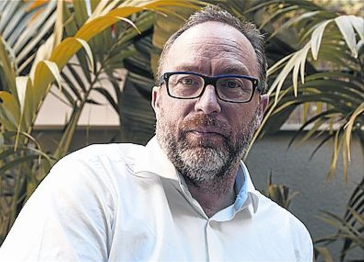 Jimmy Wales, de especulador a enciclopedista.