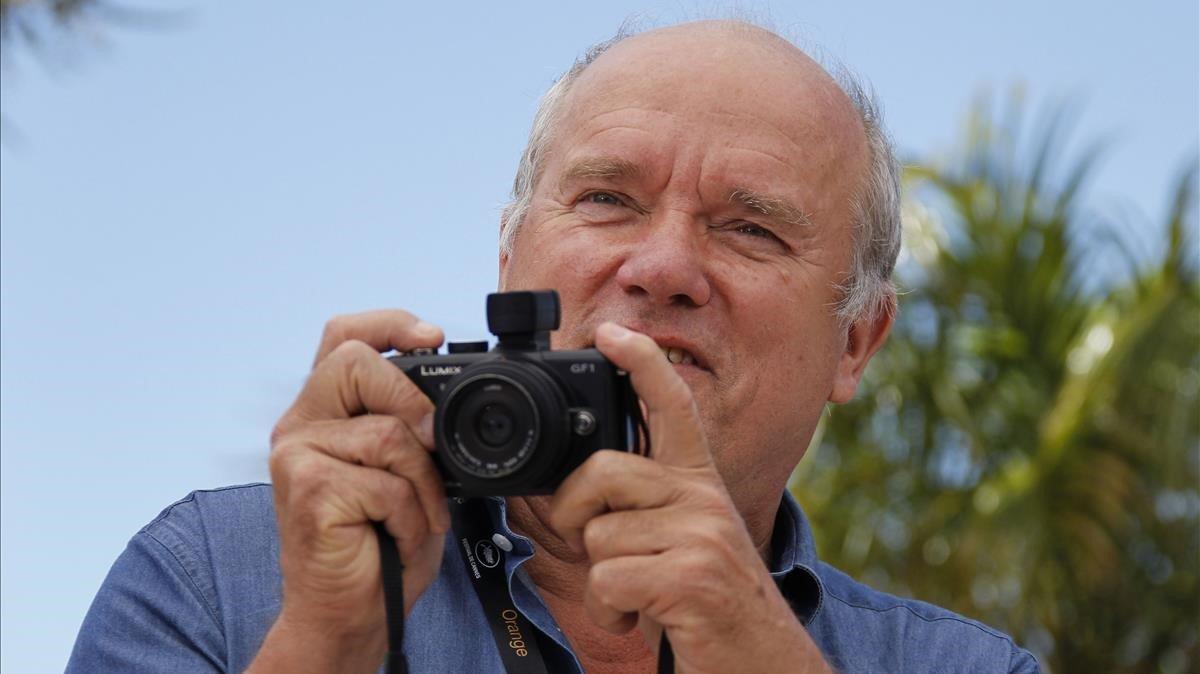 El fotógrafo de moda Peter Lindbergh en mayo del 2011
