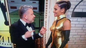 Alberto Chicote y Cristina Pedroche, en las campanadas del 2019 de Antena 3.