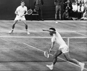 Fallece Ralston,  rival de Santana en la final de Wimbledon