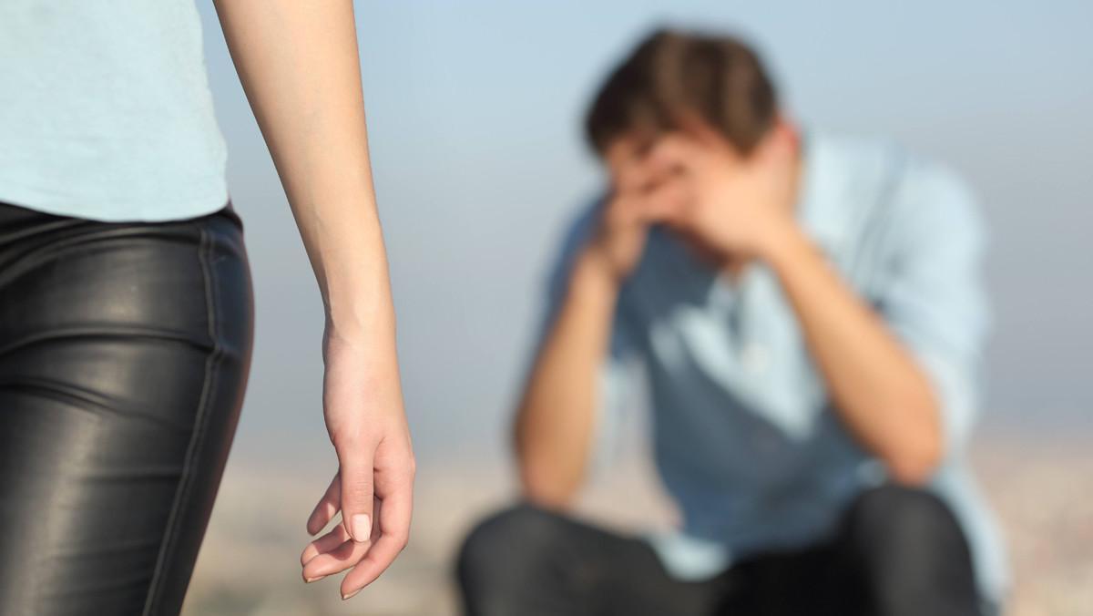 Disputa entre los miembros de una pareja.