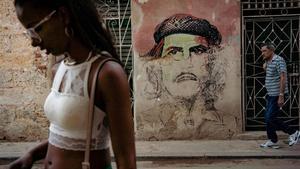 Una calle de La Habana, en noviembre del año pasado.