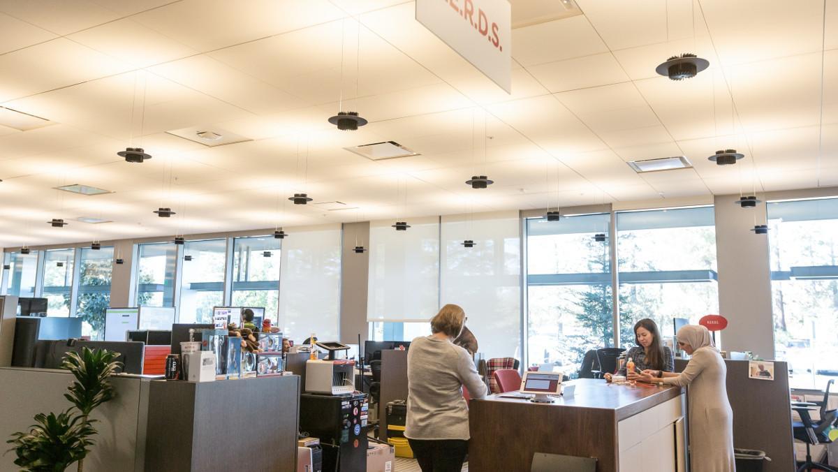 Imagen de la sede central de Netflix en Los Gatos (California).