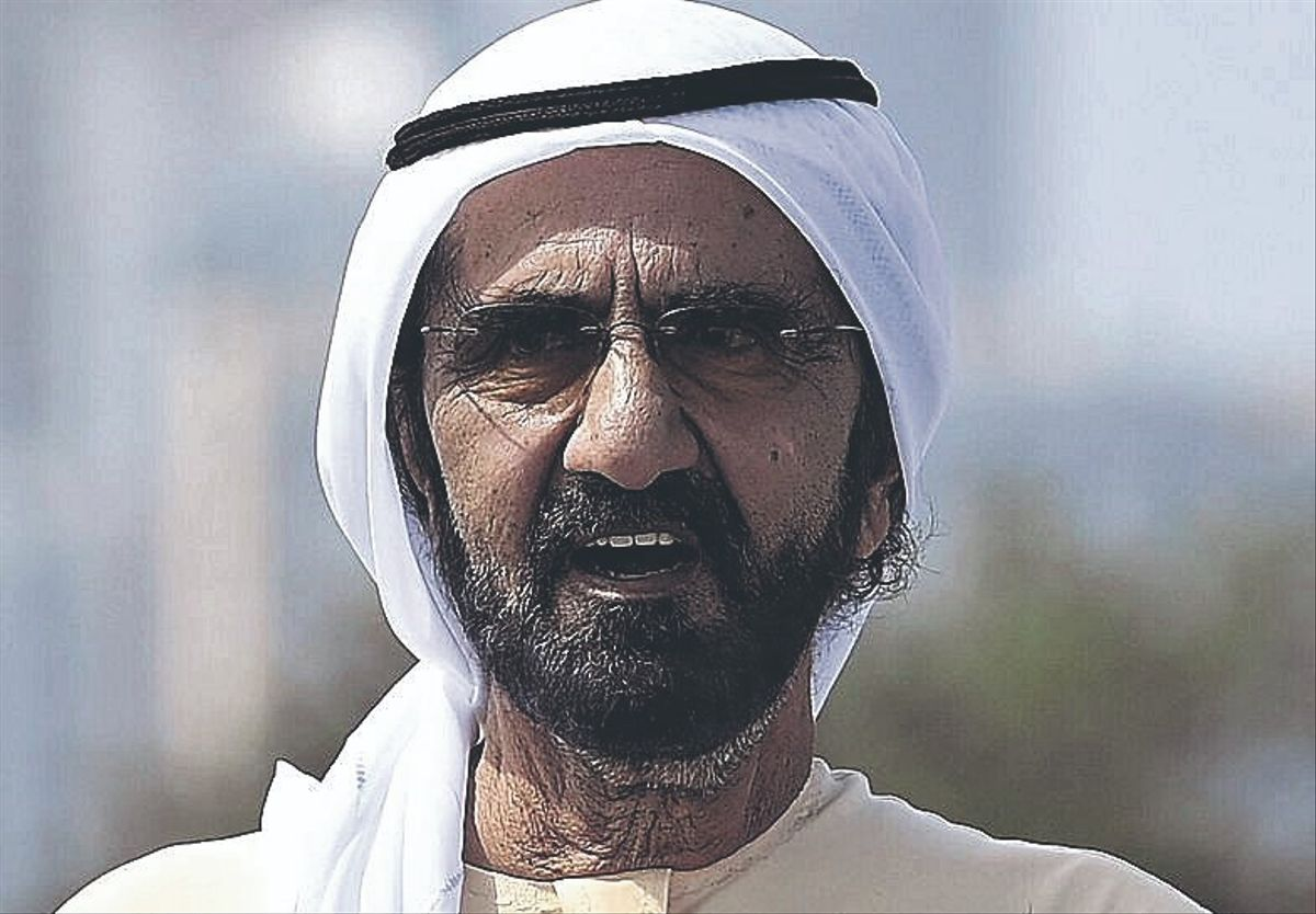 Mohammed bin Rashid Al Maktoum, emir de Dubái.