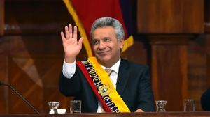 Elpresidente de Ecuador, Lenin Moreno.
