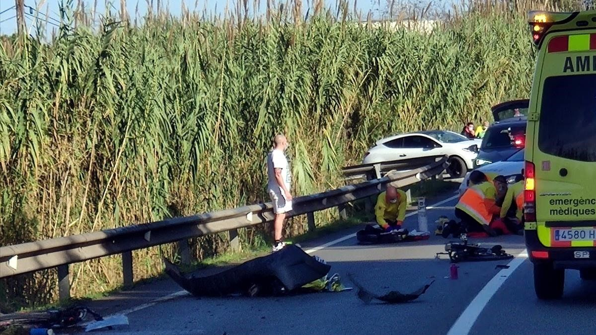 Detingut per homicidi imprudent el conductor implicat en la mort de 2 ciclistes