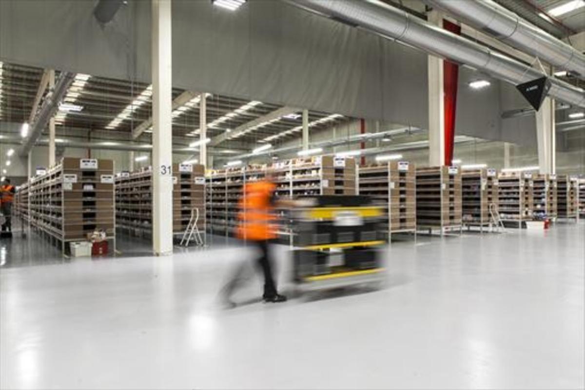 AMAZON Nuevas instalacionesde la multinacional en Castellbisbal.