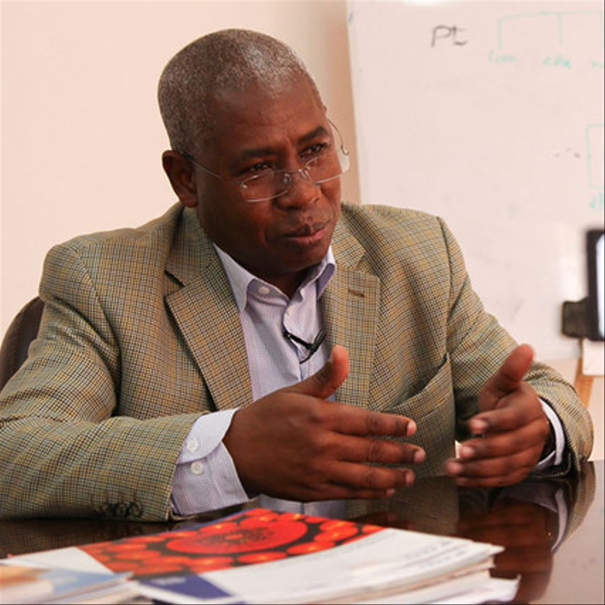 Boubakar Barry, CEO de Wacren (Red de Investigación y Educación para África Central y Occidental)