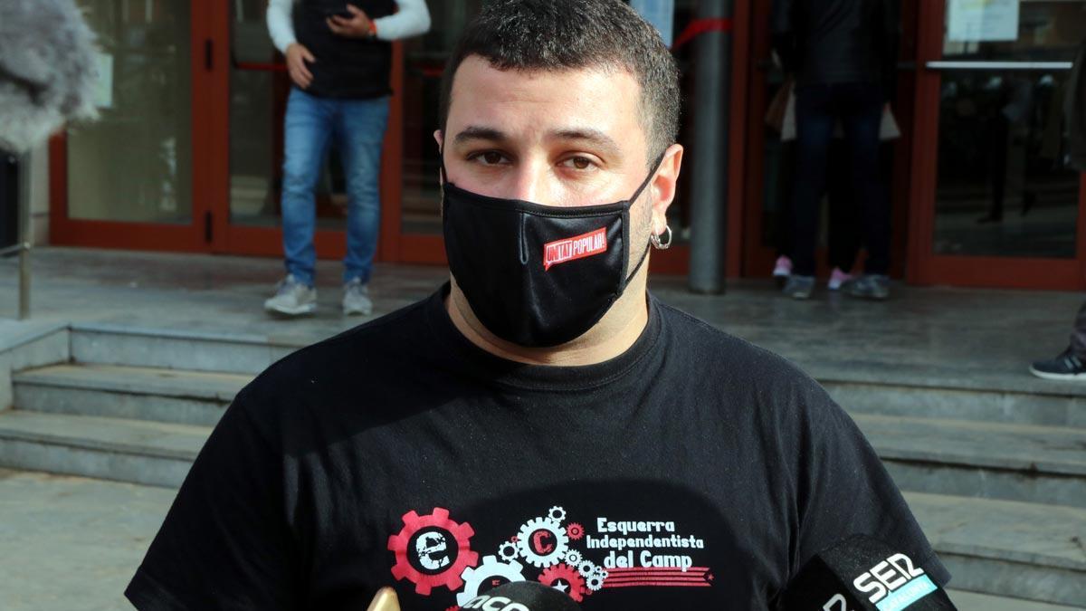 Els Mossos detenen el regidor de la CUP de Reus Edgar Fernández