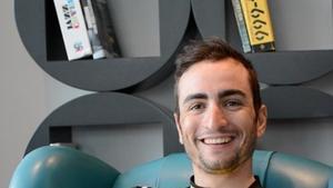 Juanjo Lobato, ciclista del Lotto-Jumbo.