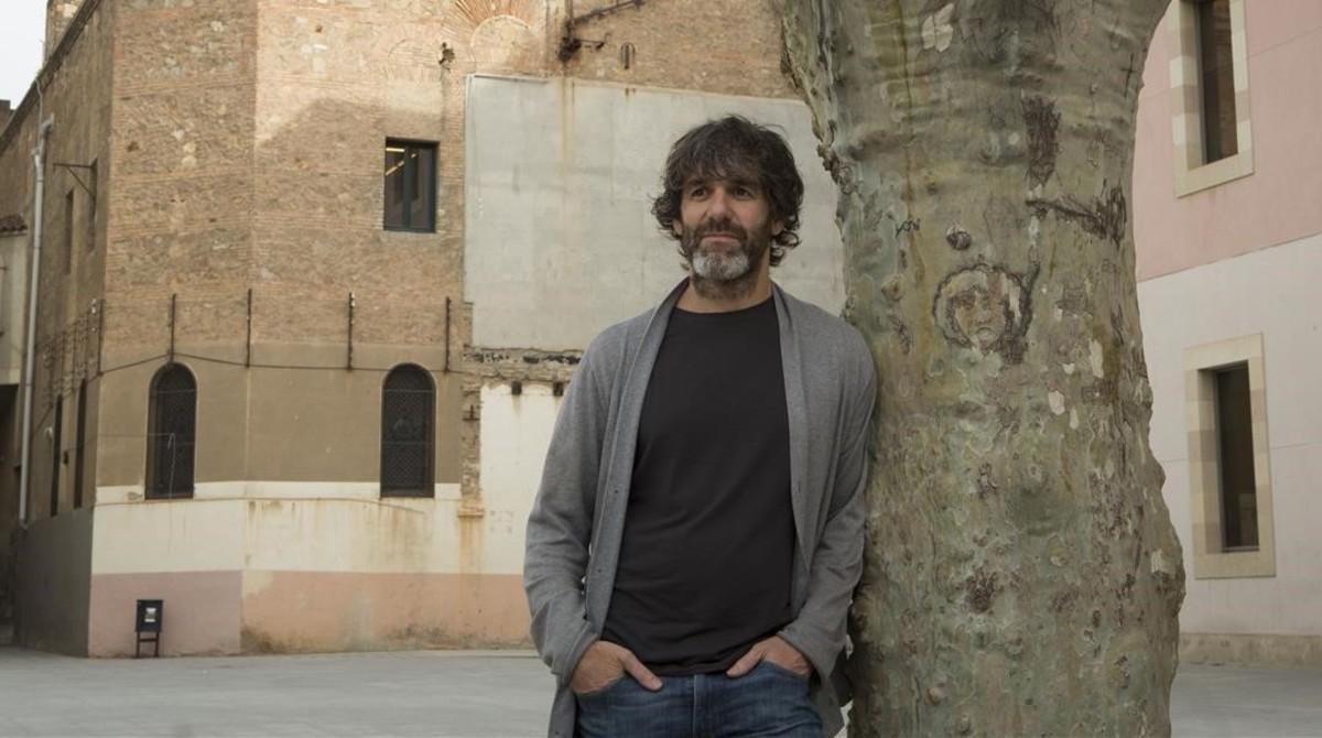 David Arratíbel, director de 'Converso', fotografiado en Barcelona.