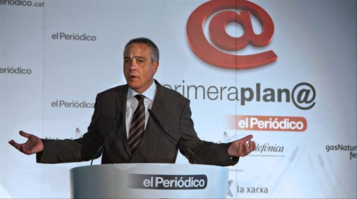 Pere Navarro, en el foro Primera Plan@.