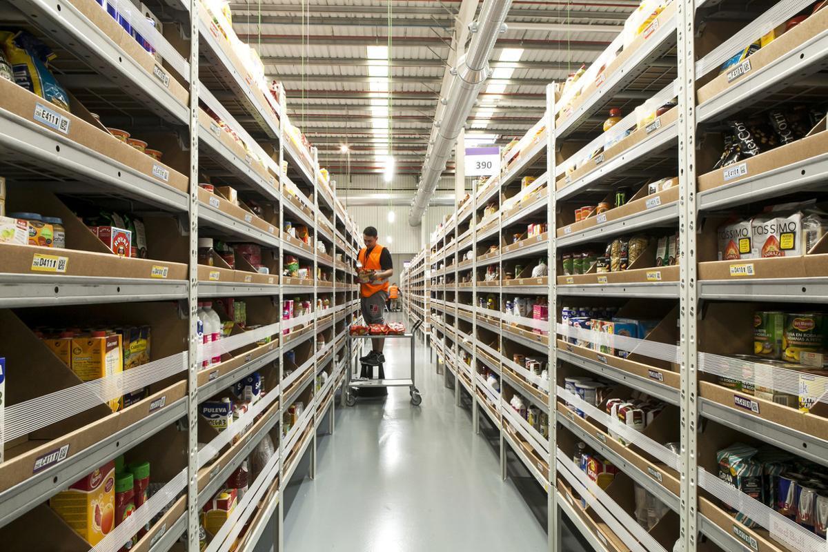 El nuevo centro de Amazon en Castellbisbal.