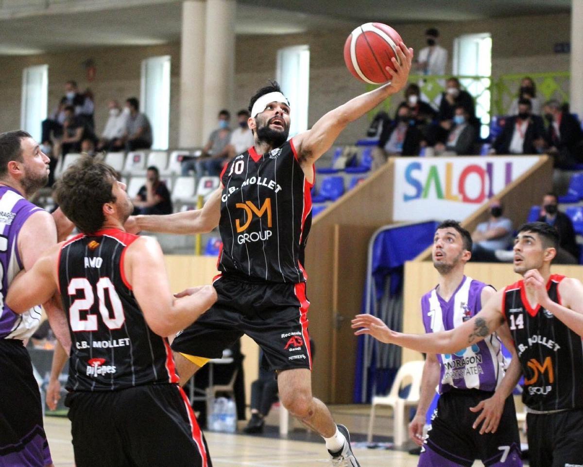 El Club Bàsquet Mollet jugarà la final de la Lliga Catalana Leb Plata contra el Cornellà
