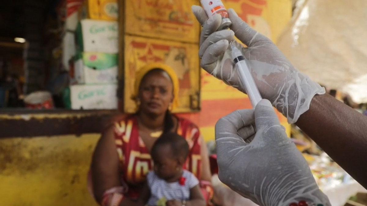 21 Millones de niños no se vacunan cada año contra el sarampión, según Unicef.