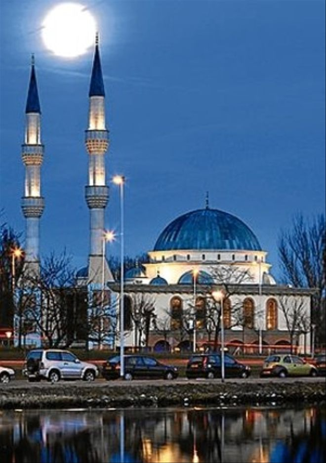 La mesquita de Mevlana.