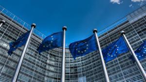 Imagen de la fachada del Parlamento europeo, en Bruselas.